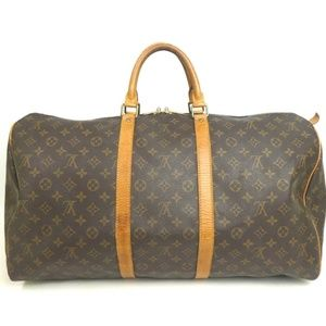 Auth Louis Vuitton Keepall 55 Travel Bag #483L5258